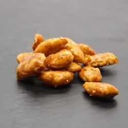 Amandes torréfiées caramélisées - Le Petit Biscuitier
