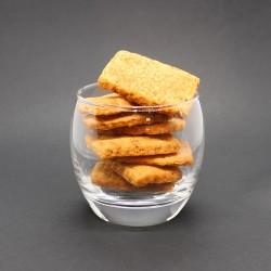 Crackers gouda piment d'Espelette - Le Petit Biscuitier