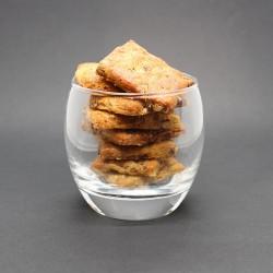 Crackers roquefort noix - Le Petit Biscuitier