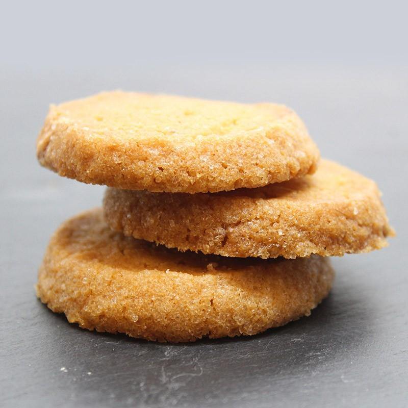 Diamants caramel / citron - Le Petirt Biscuitier
