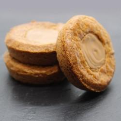 Sablés au blé noir praliné amandes noisettes - Le Petit Biscuitier